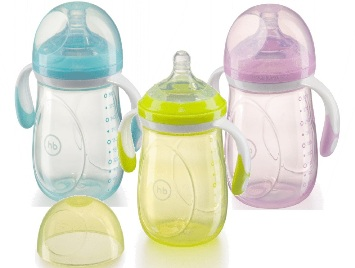 Happy Baby Бутылочка ANTI-COLIC BABY BOTTLE 0+ мес 300 мл