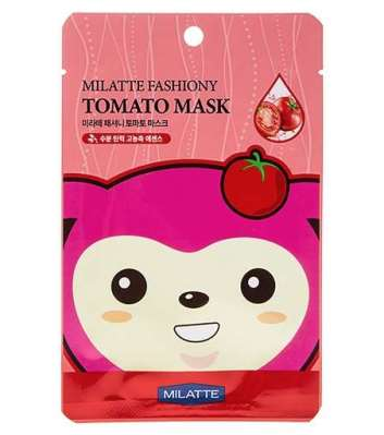 MILATTE Маска для лица тканевая томатная FASHIONY TOMATO MASK SHEET 21г